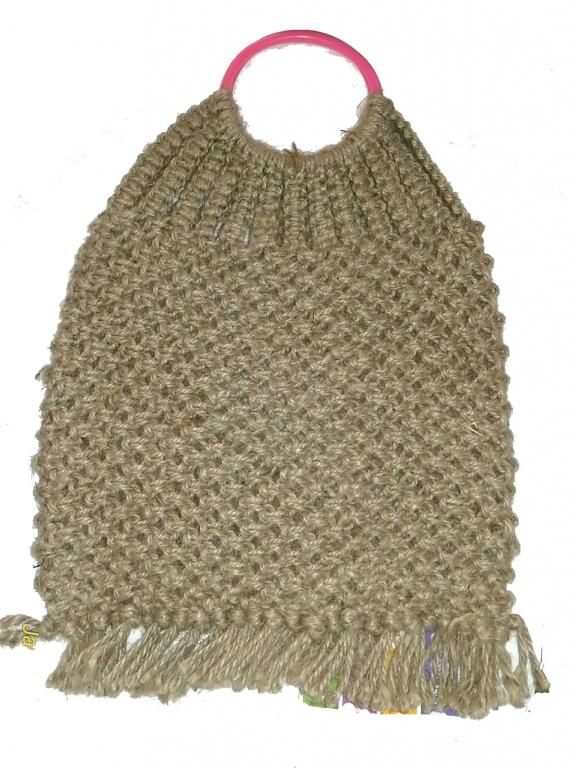 Jute Handbag Large(#250)-gallery-0