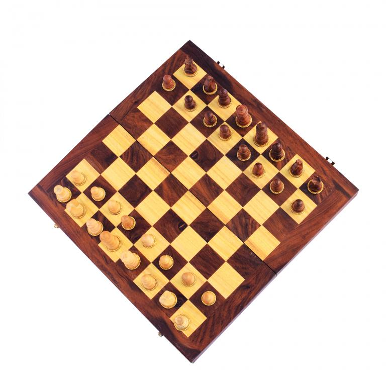 Wooden Chess Set(#253)-gallery-0