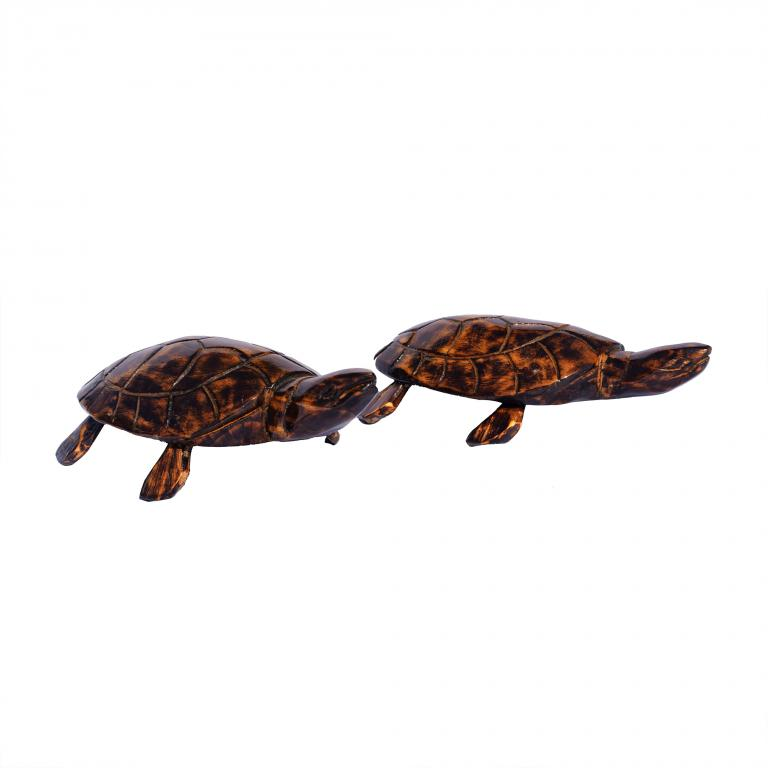 Wooden Tortoise Smaill(#255)-gallery-1