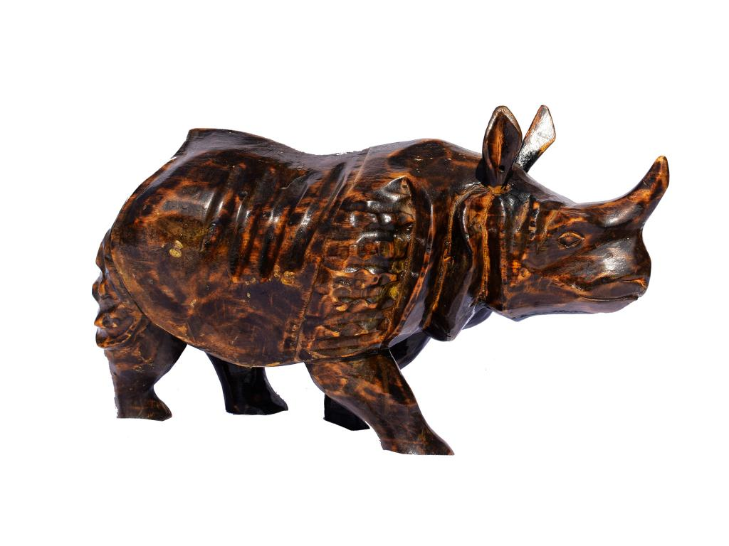 Wooden Rhino(#258)-gallery-0