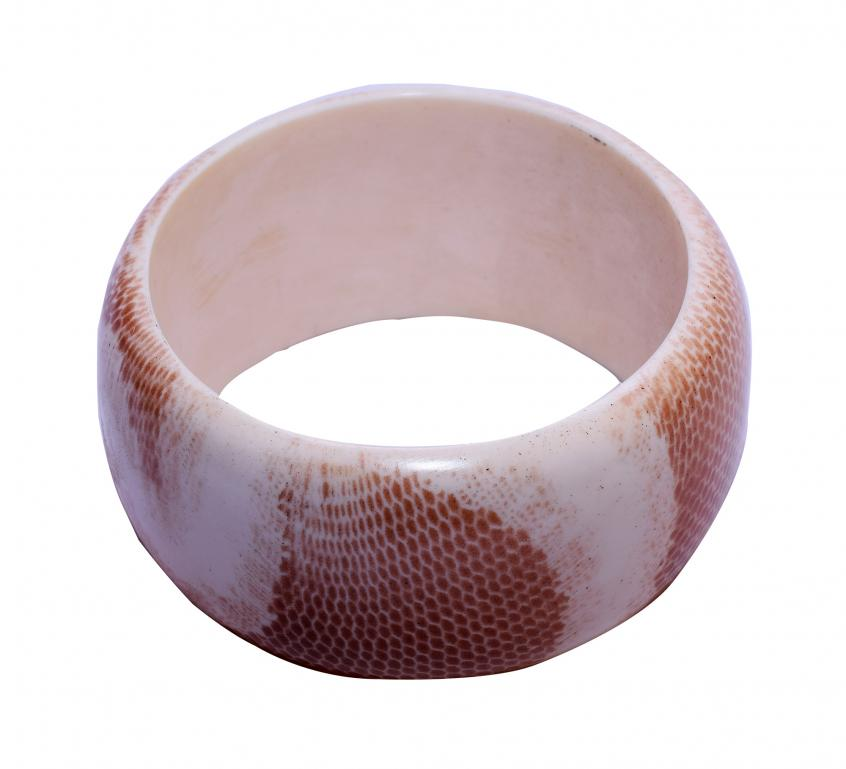 Camel Bone Bangle(#265)-gallery-0