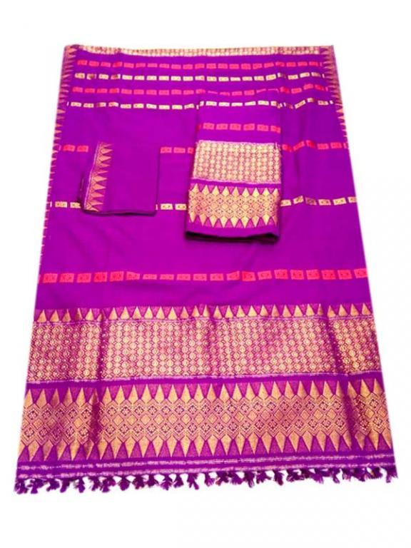 Assamese Mekhela Chador(#321)-gallery-1