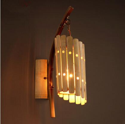 Bamboo Wall Lamp(#338)-gallery-0