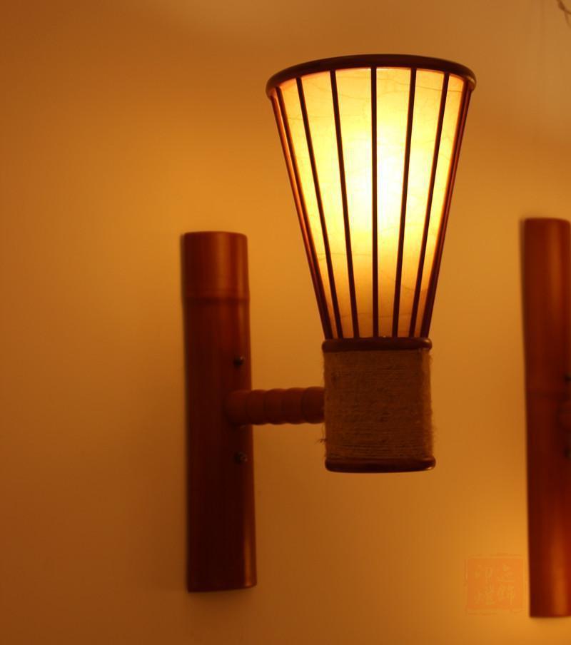 Bamboo Wall Lamp(#340)-gallery-0