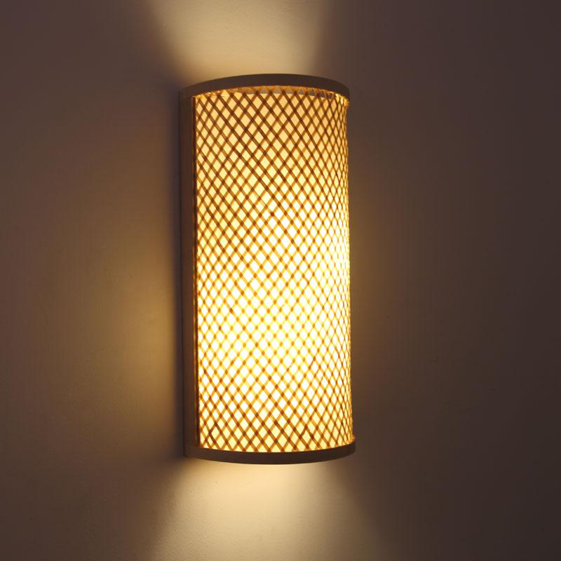 Bamboo Wall Lamp(#341)-gallery-0