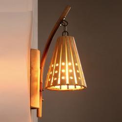 Bamboo Wall Lamp(#342)