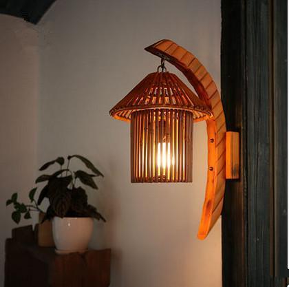 Bamboo Wall Lamp(#343)-gallery-0