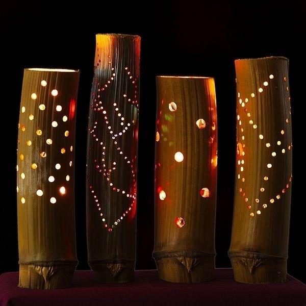 Bamboo Lamp(#346)-gallery-0