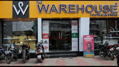 the warehouse footwear store
