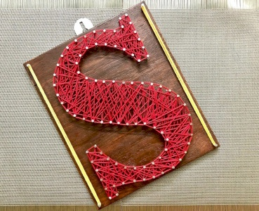 Name Letter String Art