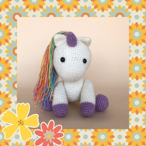 Unicorns : Fantasy Amigurumi, Super cute crochet