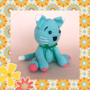 Amigurumi cute Cat for kids