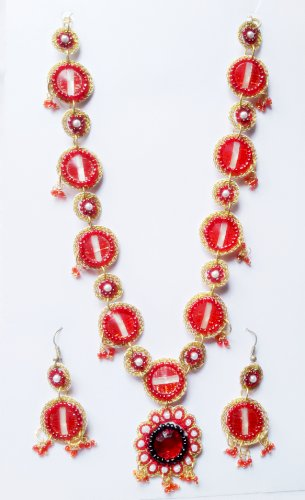 Embroidery Glass Beads Neckless