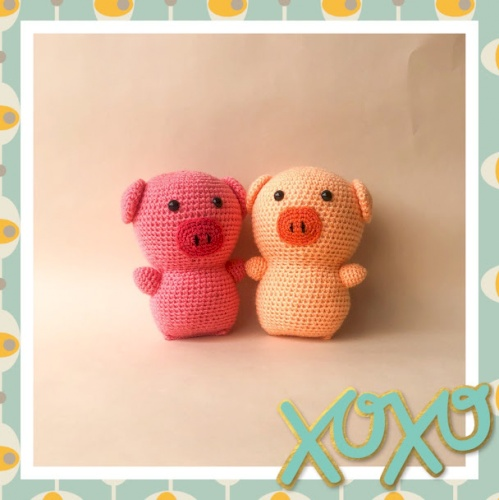 Amigurumi Piggies toy