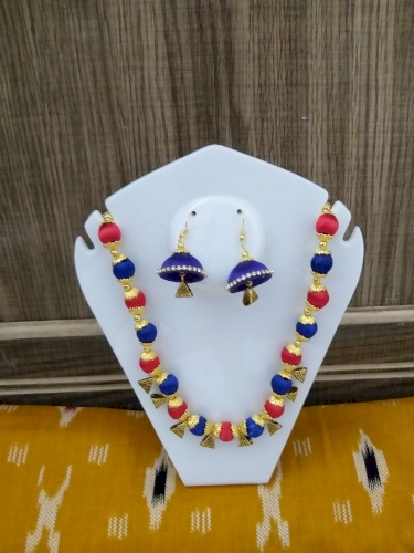 Handmade Necklace Set with Earrings