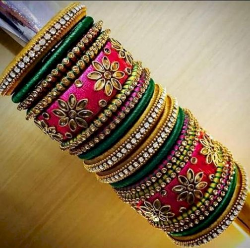 Handmade bangle set