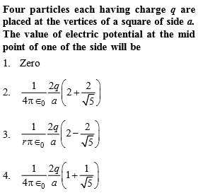 NEET Physics Electrostatic Potential and Capacitance