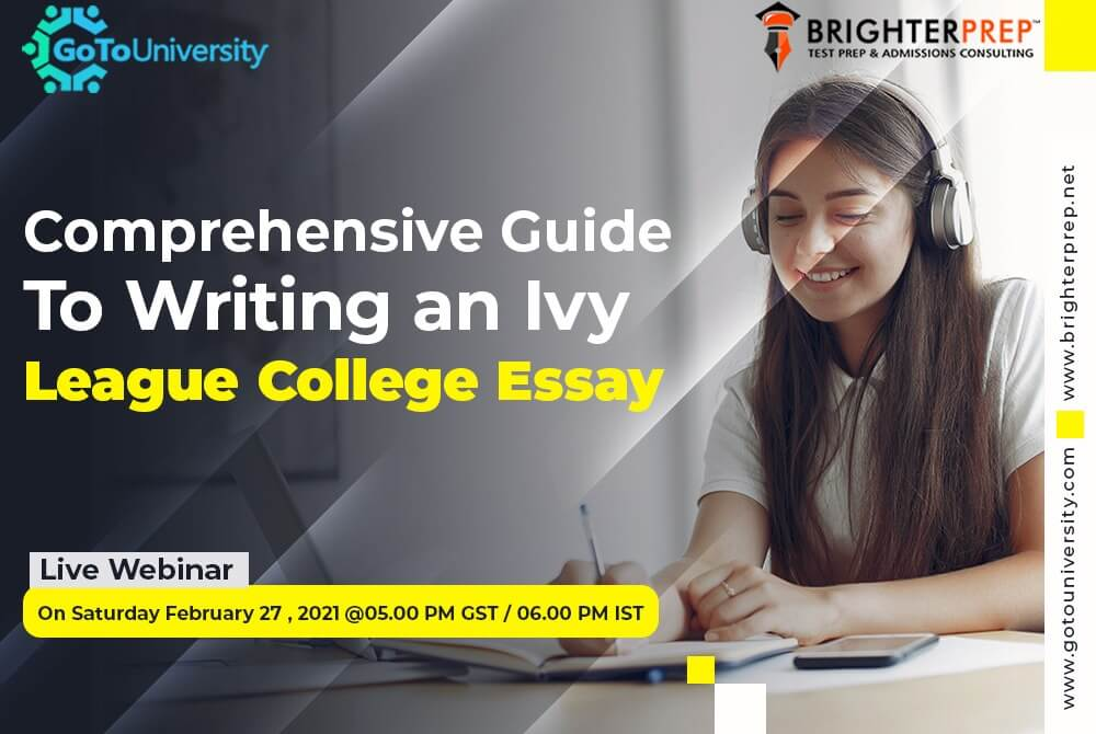 Guide to Writing an Ivy League College Essay