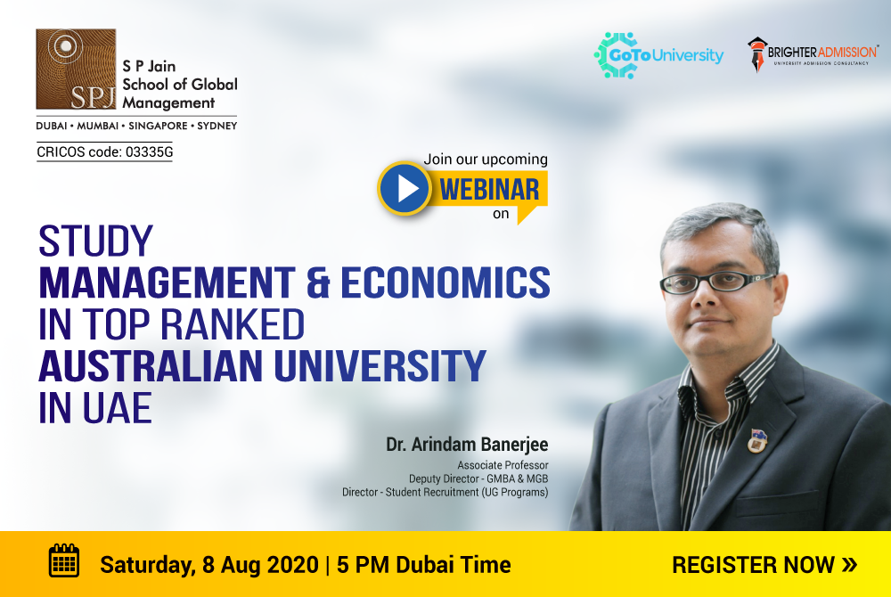 Study Management & Economics in UAE