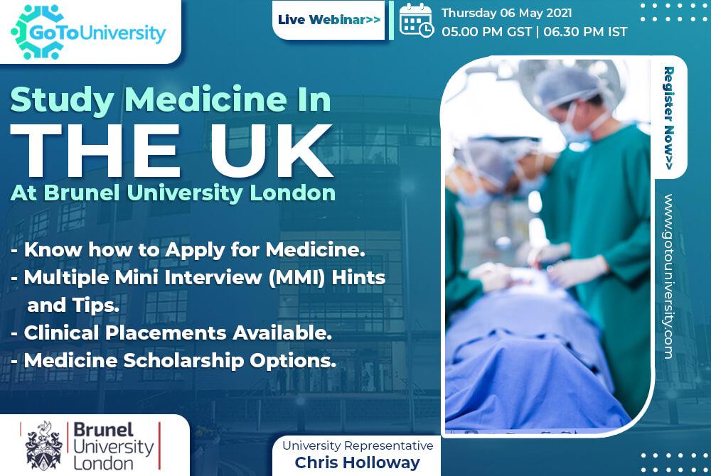 Study Medicine - Brunel Medical School