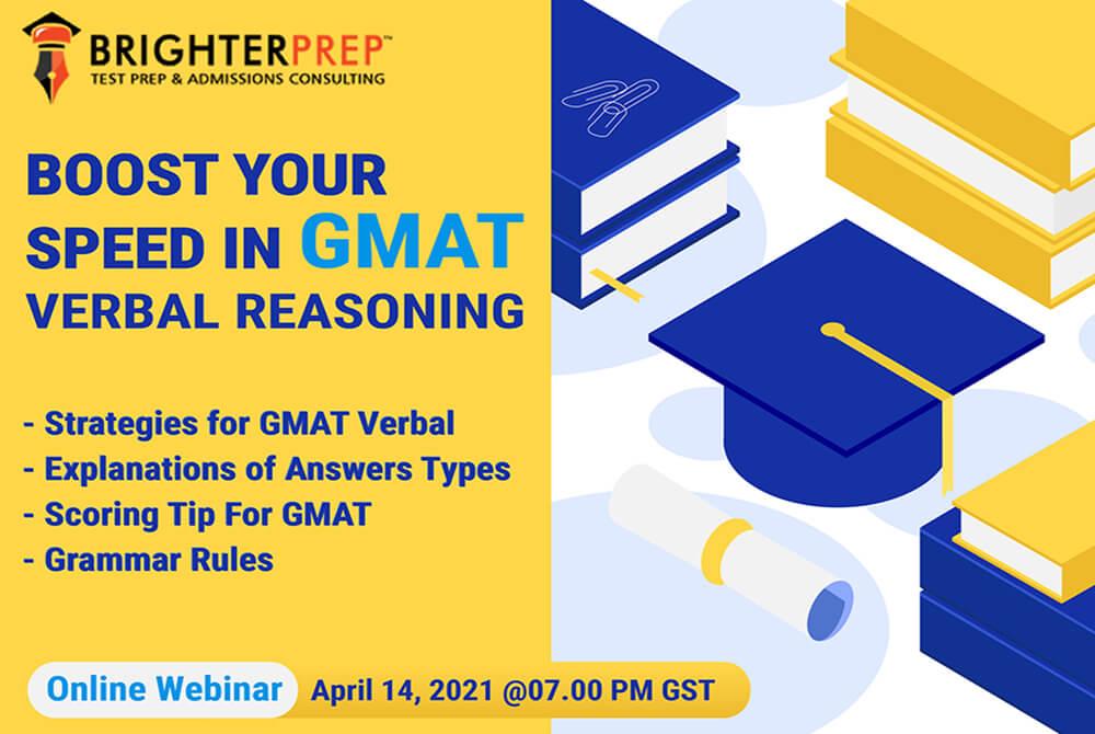 Online GMAT Verbal Master Classes