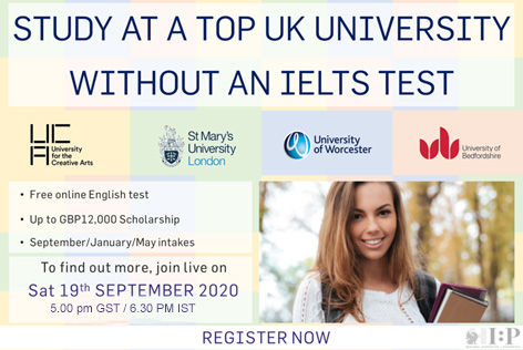 Study in Top Universities UK | Holmes Group