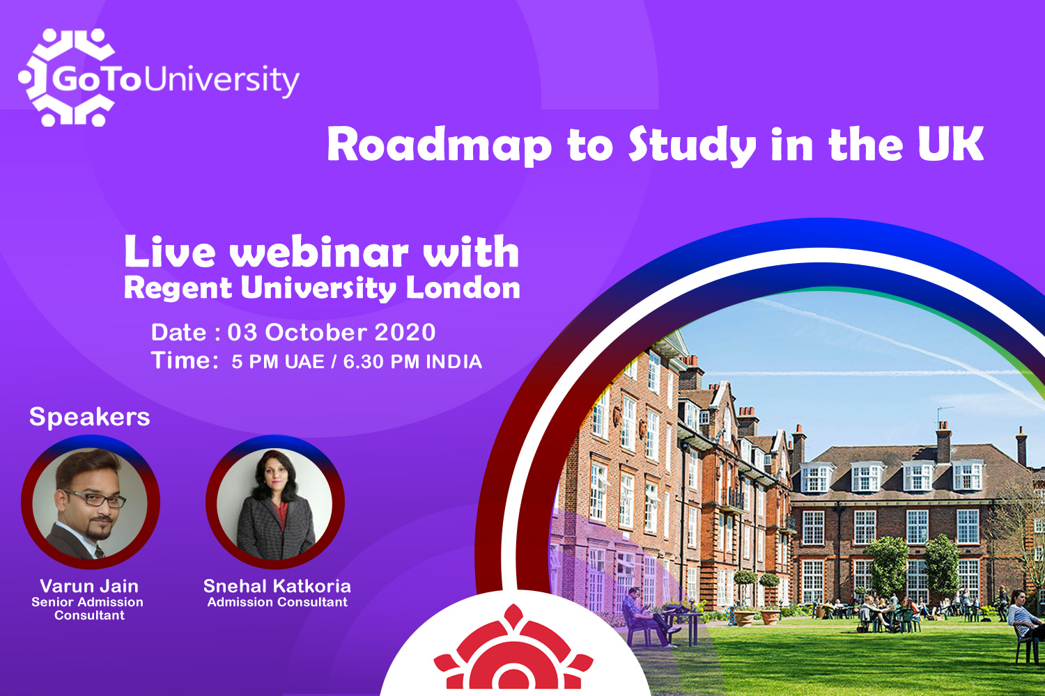 Road map to study in UK