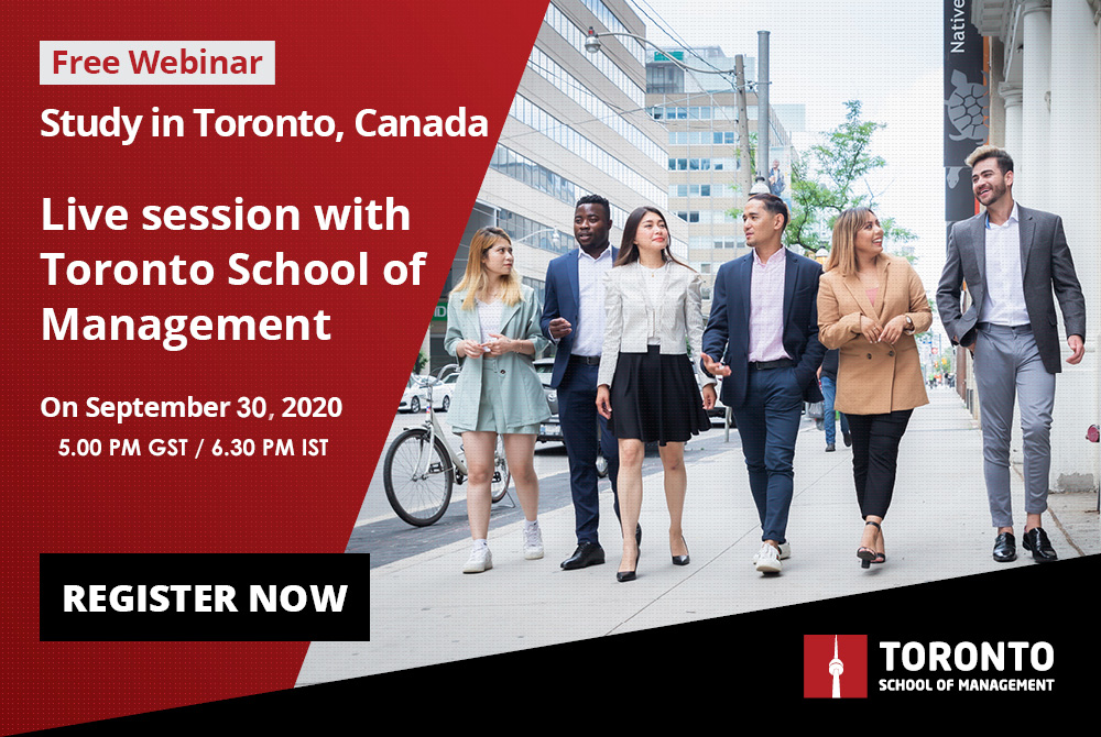 Study in Canada with Toronto School of Management