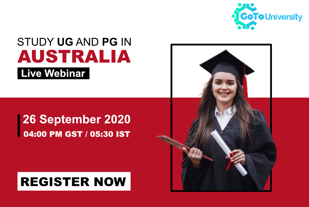Study UG and PG in Australia