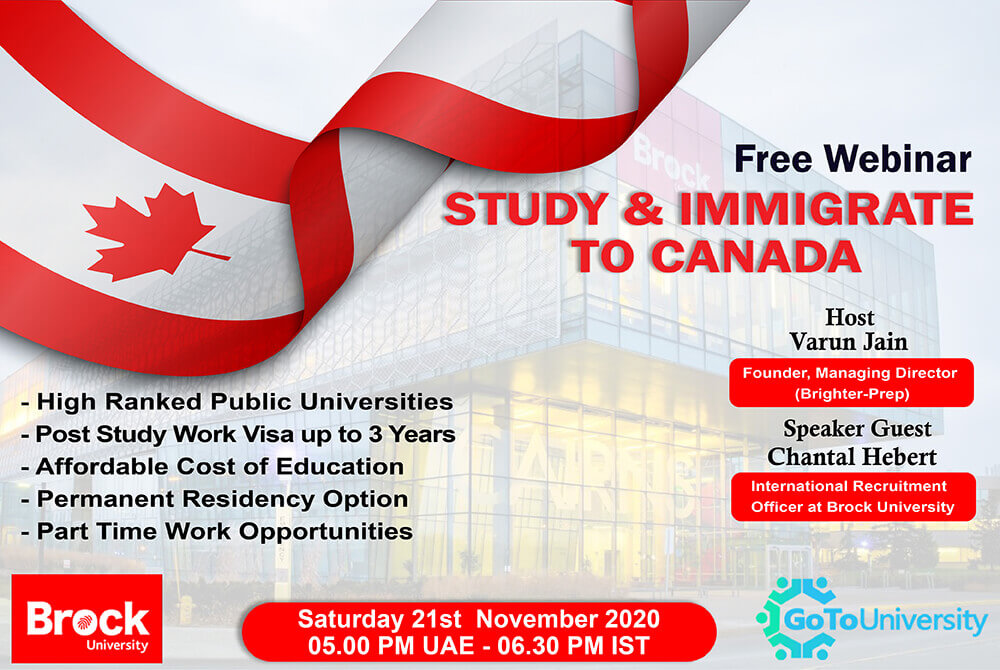 Study and Immigrate to Canada