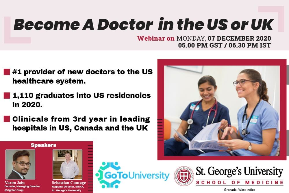 Become a Doctor in the US or UK