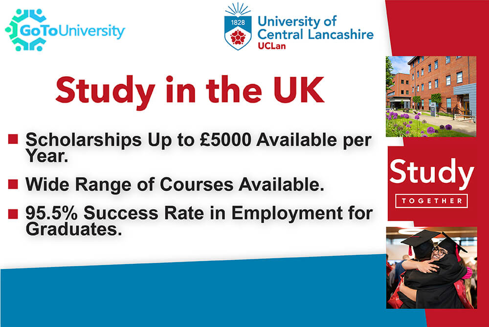 Study in the UK at the University of Central Lancashire