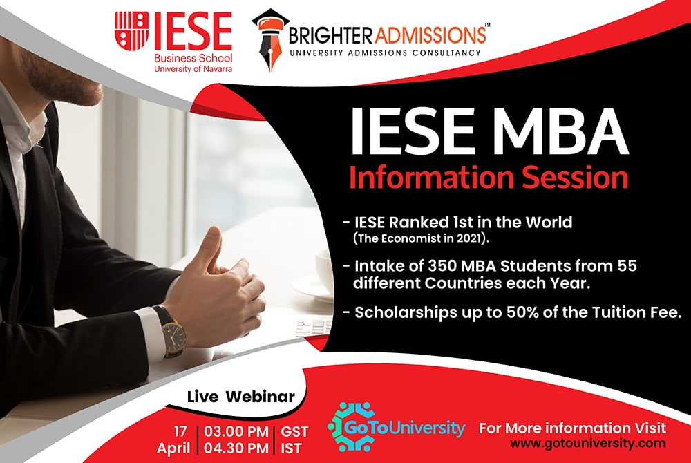 IESE MBA Information Session