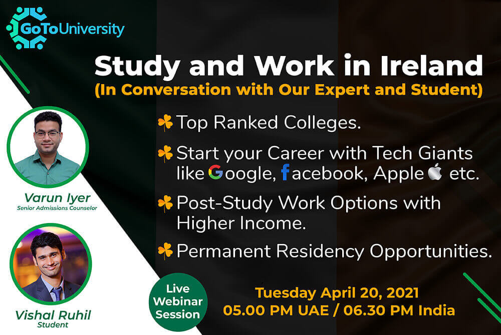 Study and work in Ireland