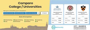 Compare Universities Worldwide and pick your best option
