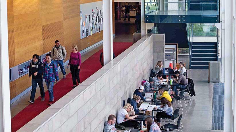 Brock University Hallway