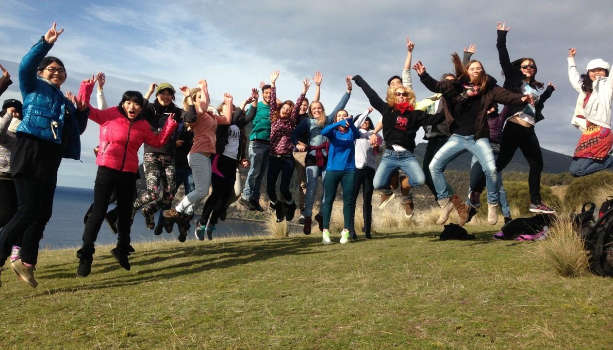 Students at UTAS