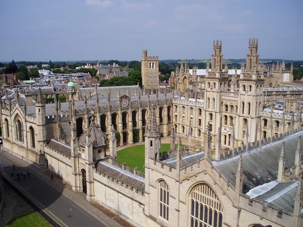 Top Universities in Europe   Oxford University