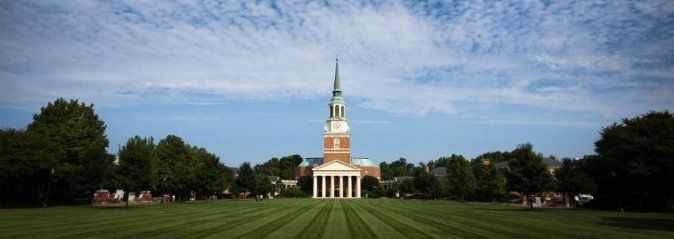 Wake Forest University Acceptance Rate