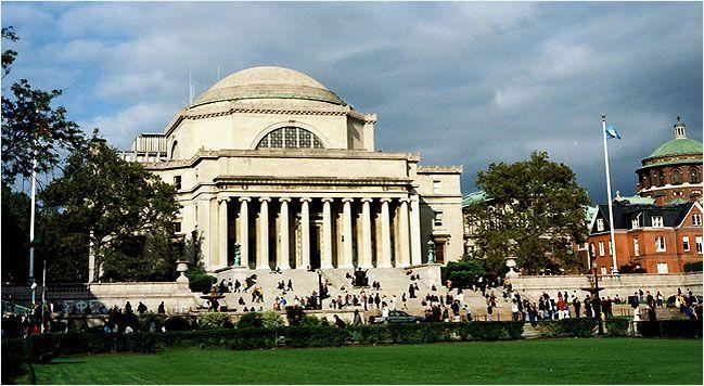 Columbia University Ranking