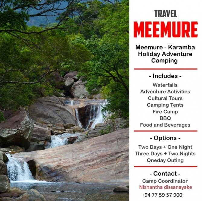 Adventure Activities And Camping in Meemure