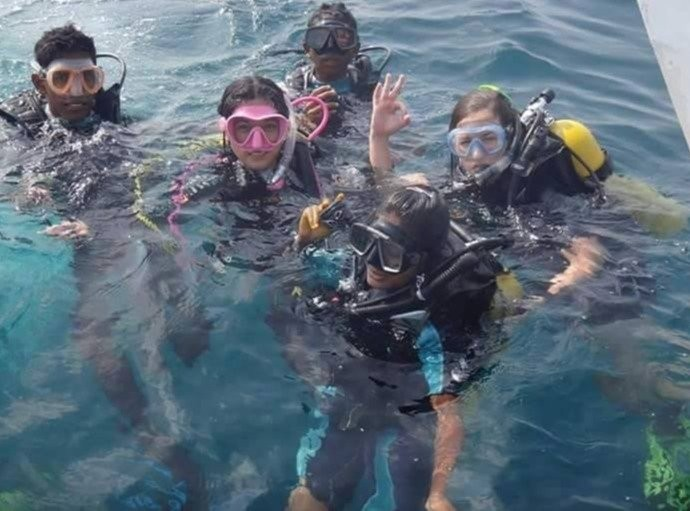 Scuba Diving Mirissa in Mirissa