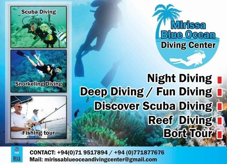 Scuba Diving Training-mirissa in Mirissa