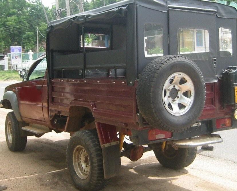 Jeep Safari - From Dambulla in Dambulla