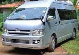 Toyota KDH for rent in Colombo Sri Lanka   GoTripsLK
