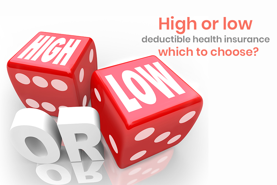 High or Low Deductible Health Insurance - Which to