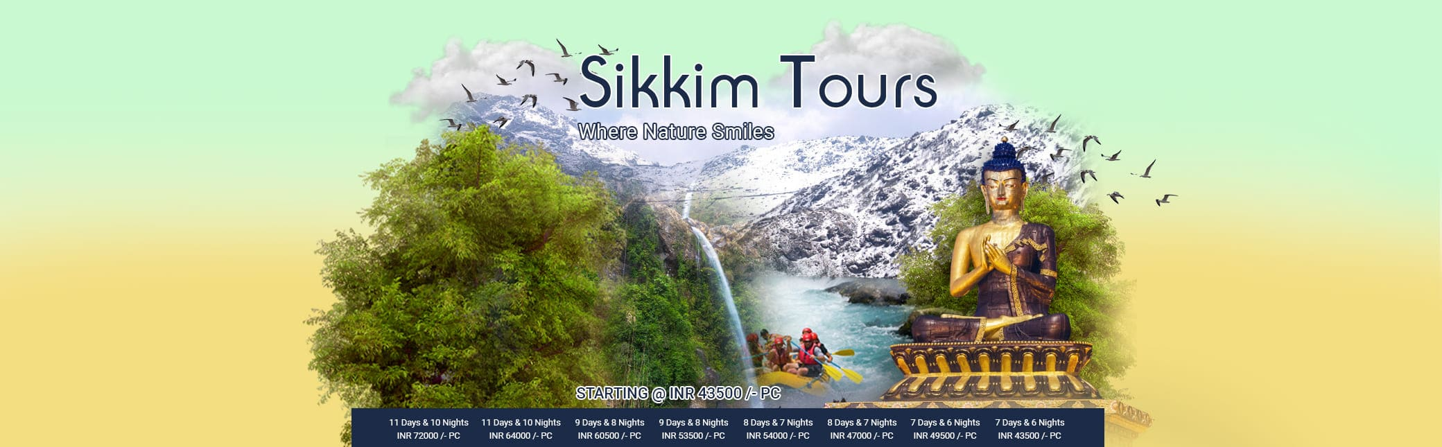 Sikkem Tour Packages