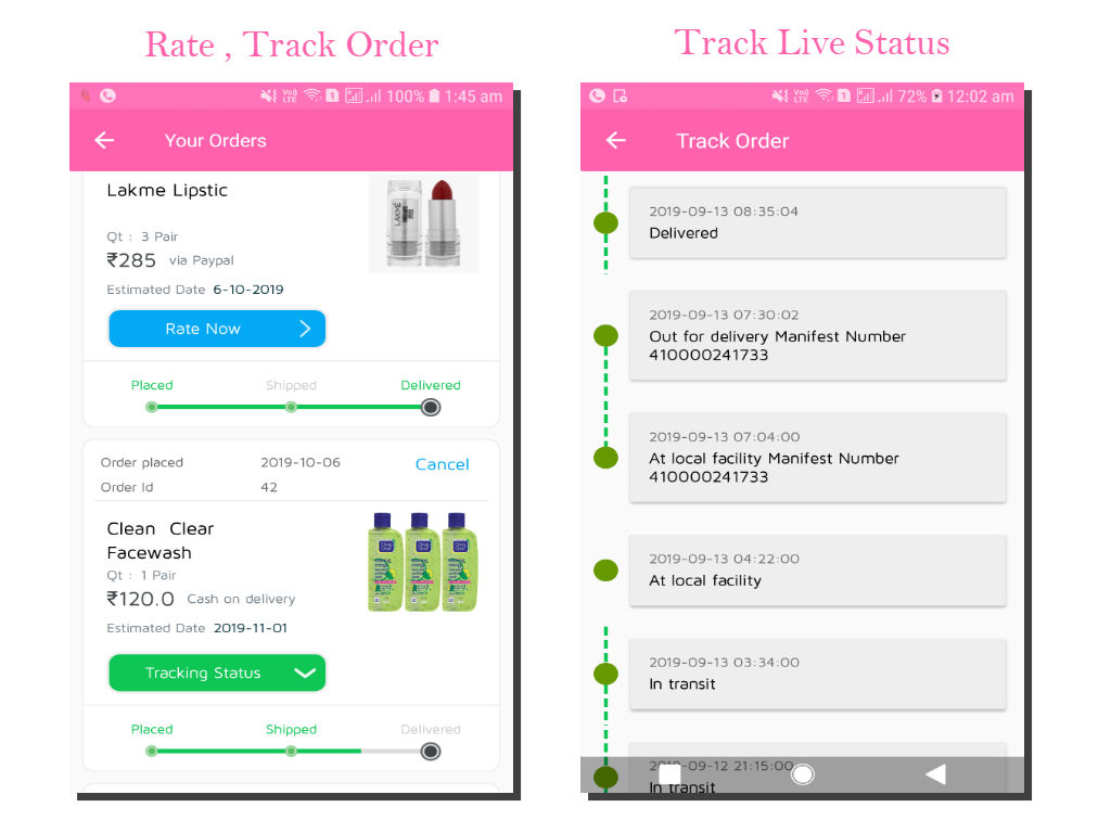 lykaa Multivendor Ecommerce & Spa Booking App - 7