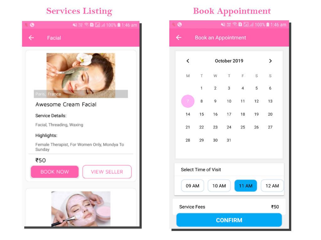 lykaa Multivendor Ecommerce & Spa Booking App - 8