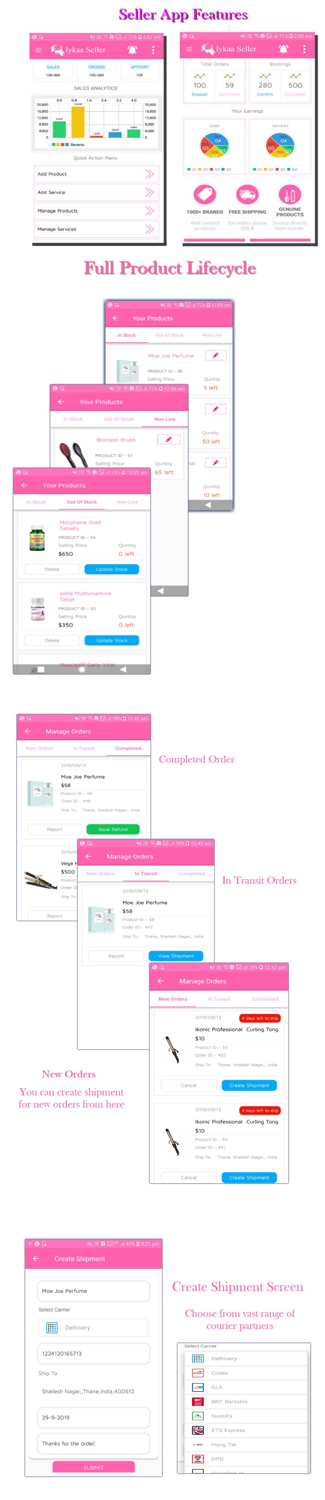 lykaa Multivendor Ecommerce & Spa Booking App - 9